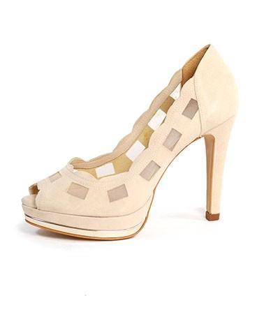 Sapato de Salto Papaya Lodi