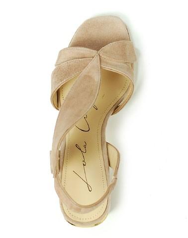 Sandália de Salto 179Z30BK Lola Cruz