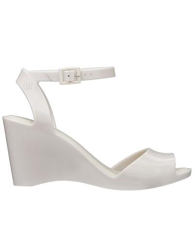 Sandália de Salto Blanca Melissa