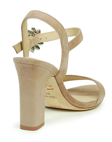 Sandália de Salto 093Z30BK Lola Cruz